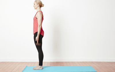 how to do your best standing forward bend  uttanasana
