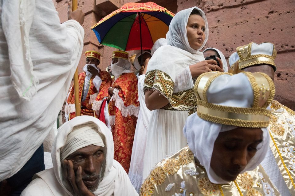 Procession at Bet Amanuel: St. Emmanuel Church