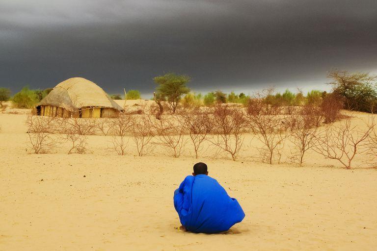 storm clouds, Mali