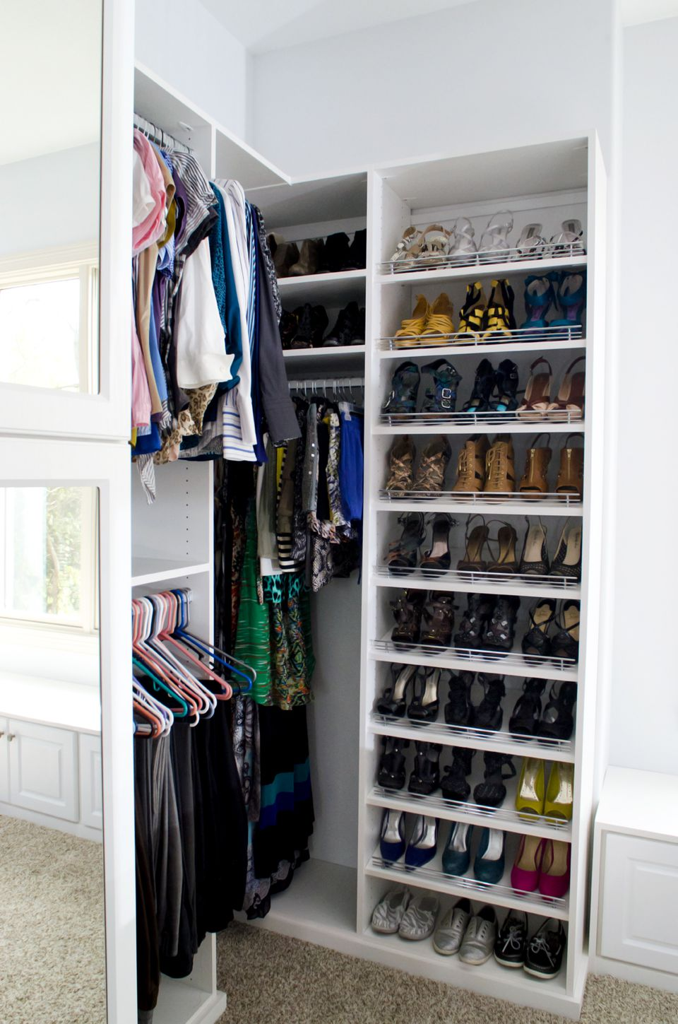 How to choose a closet system No closet hanging solutions