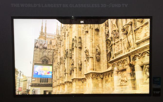 Samsung prototype 8K TV