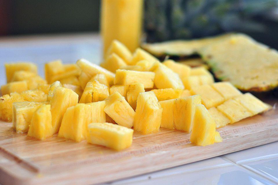 Diced Pineapple