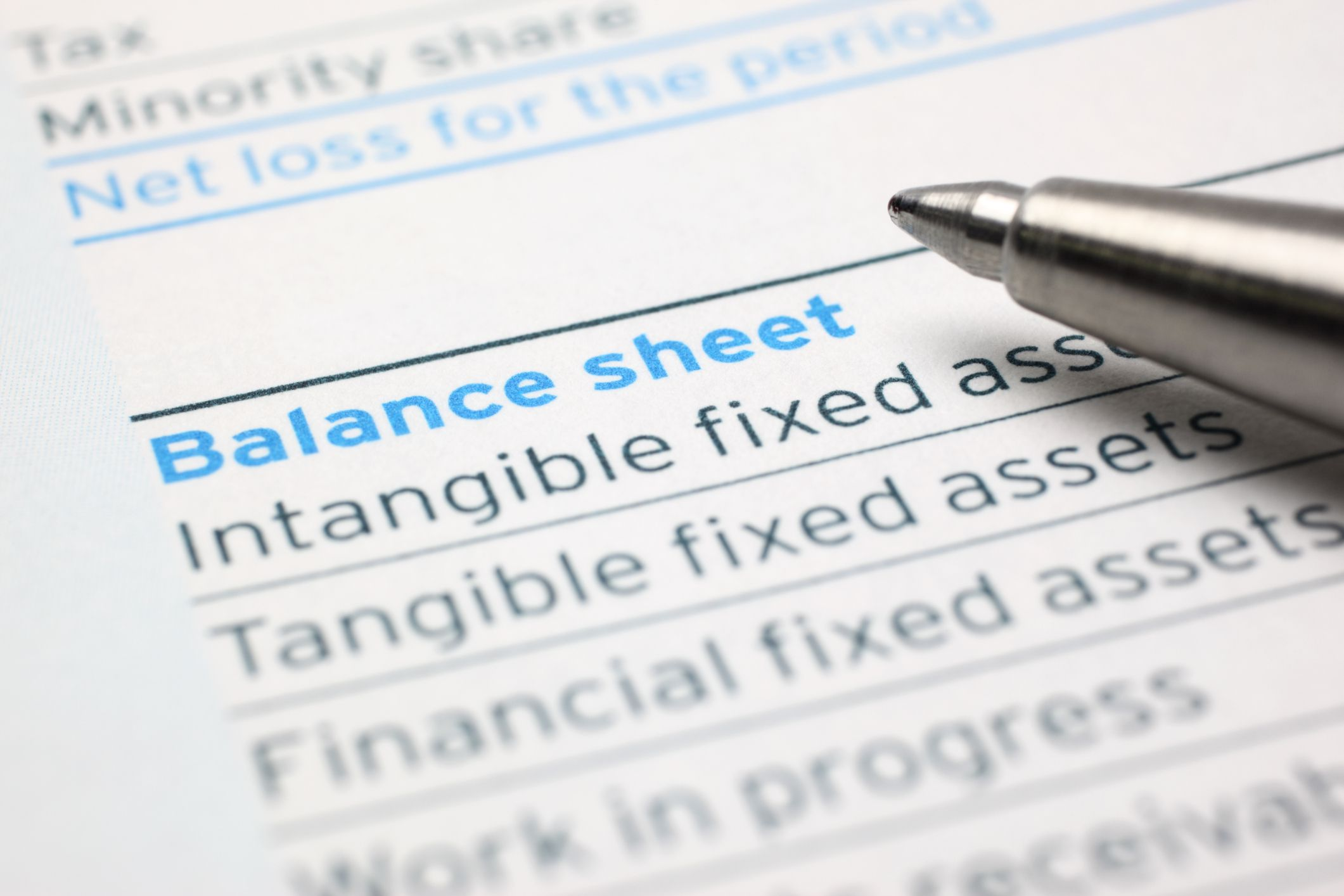 balance sheet and assets b liabilities The equation reflects how information is organized on the balance sheet, with assets listed on the left and liabilities and equity on the right.