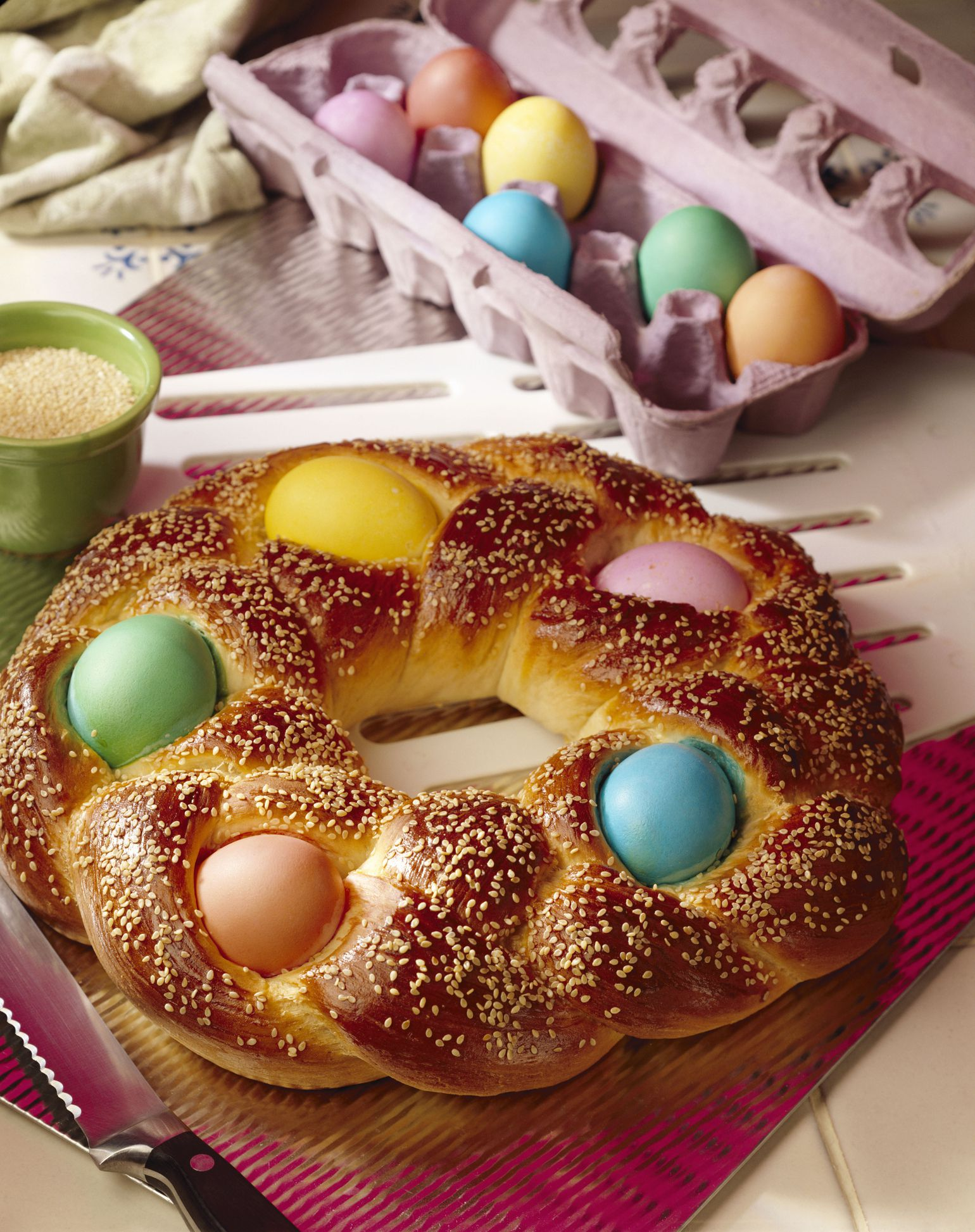 Greek orthodox easter food and traditions traditional greek easter recipes negle Choice Image