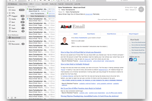 how to make a group email list in apple mail