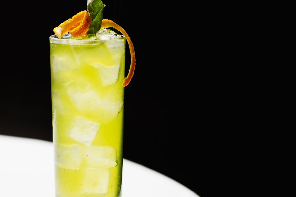 The Melon Patch is an easy vodka cocktail.