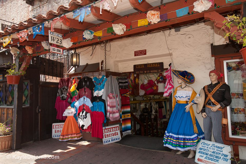 The Mexican Marketplace at Olvera Street
