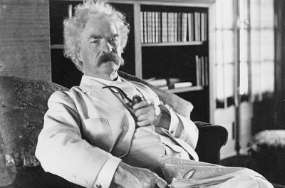 a fable by mark twain Mr bird was astonished to find a richly imagined fable, in twain's  mr bird  brought the text to the attention of the mark twain house and.