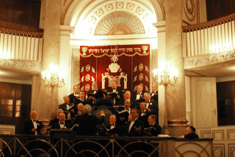 Cantor-concert in the Vienna Stadttempel synagogue