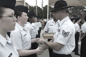 Air Force Basic Training Coin Ceremony