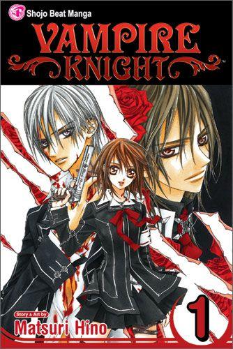 Vampire Knight Volume 1 by Matsuri Hino, published by Shojo Beat / VIZ Media