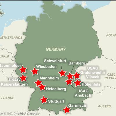 Installation Overview US Army Garrison Heidelberg - Map of us army bases in germany
