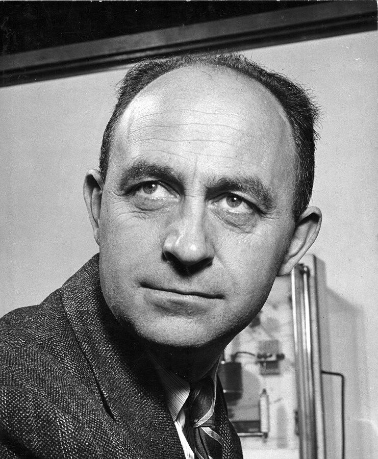 Italian physicist Enrico Fermi