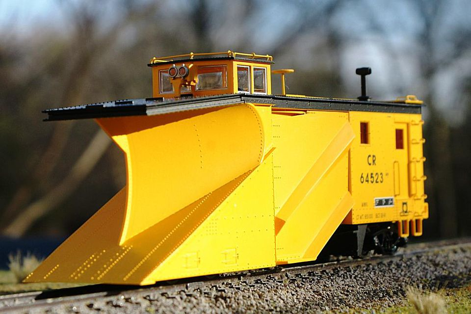 Walthers Snow Plow