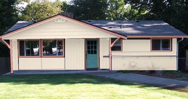 Exterior paint color schemes cottage house for Cottage colours exterior paints