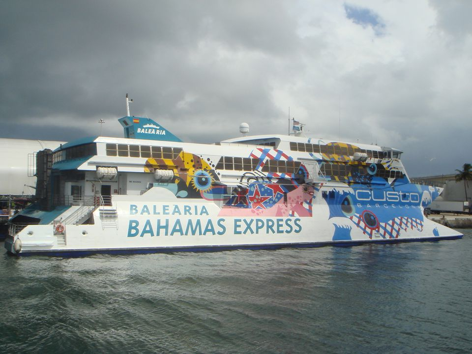 Bahamas Ferry Between Islands