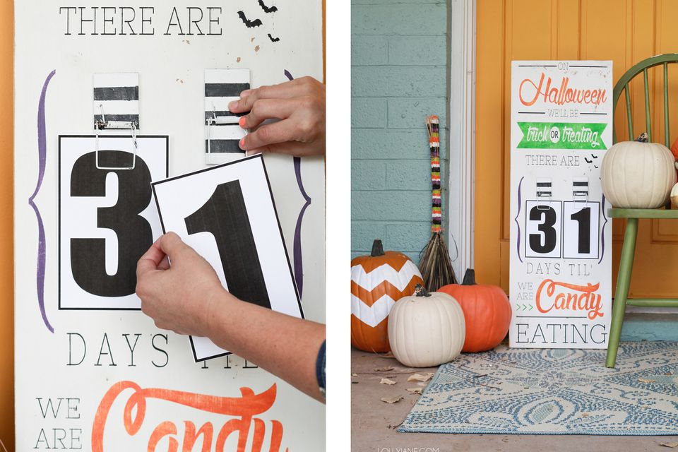 countdown-to-halloween-Sign