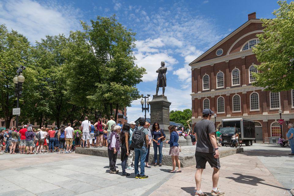 Freedom Trail Faneuil Hall Boston