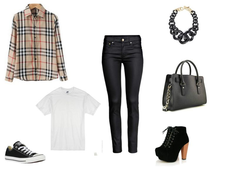 How to Wear Jeans and a Plaid Shirt: Outfit Ideas