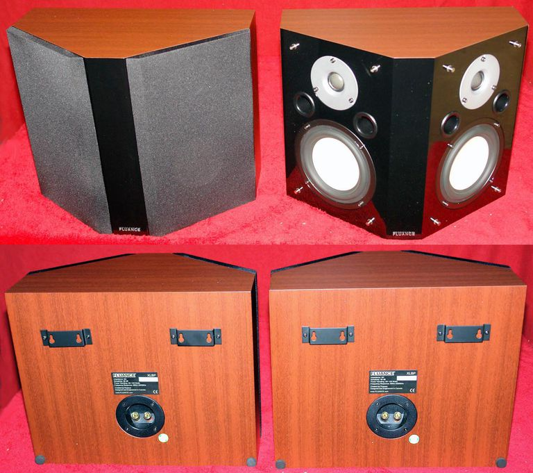 Fluance XLBP Bipole Surround Sound Loudspeakers