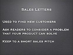 Sales Letter Essentials