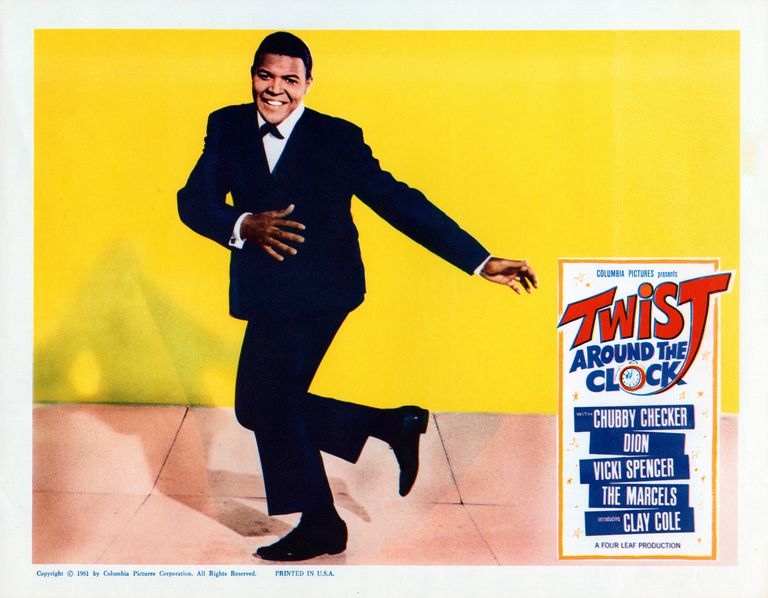 Lobby Card For Twist Around the Clock
