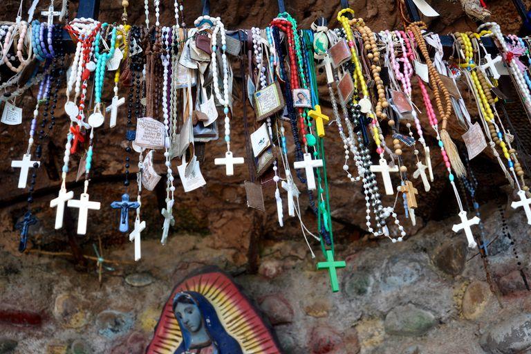 Rosaries and scapulars