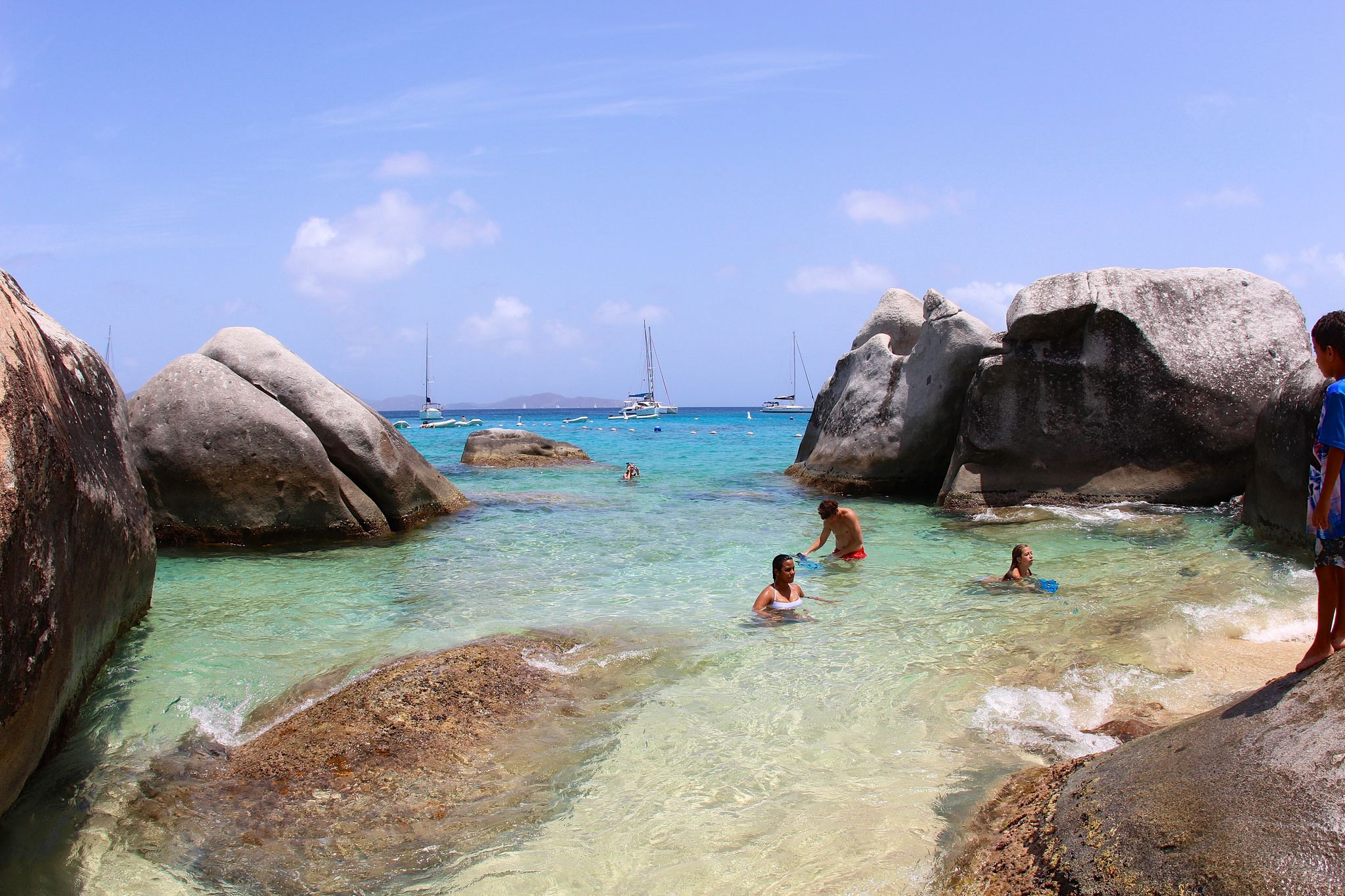 The Baths, Virgin Gorda Island, British Virgin Islands, West Indies  № 1471417 бесплатно