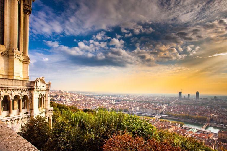 Lyon Skyline