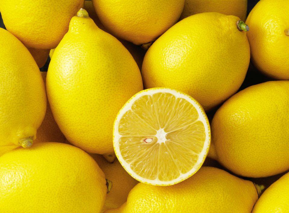 Group of lemons