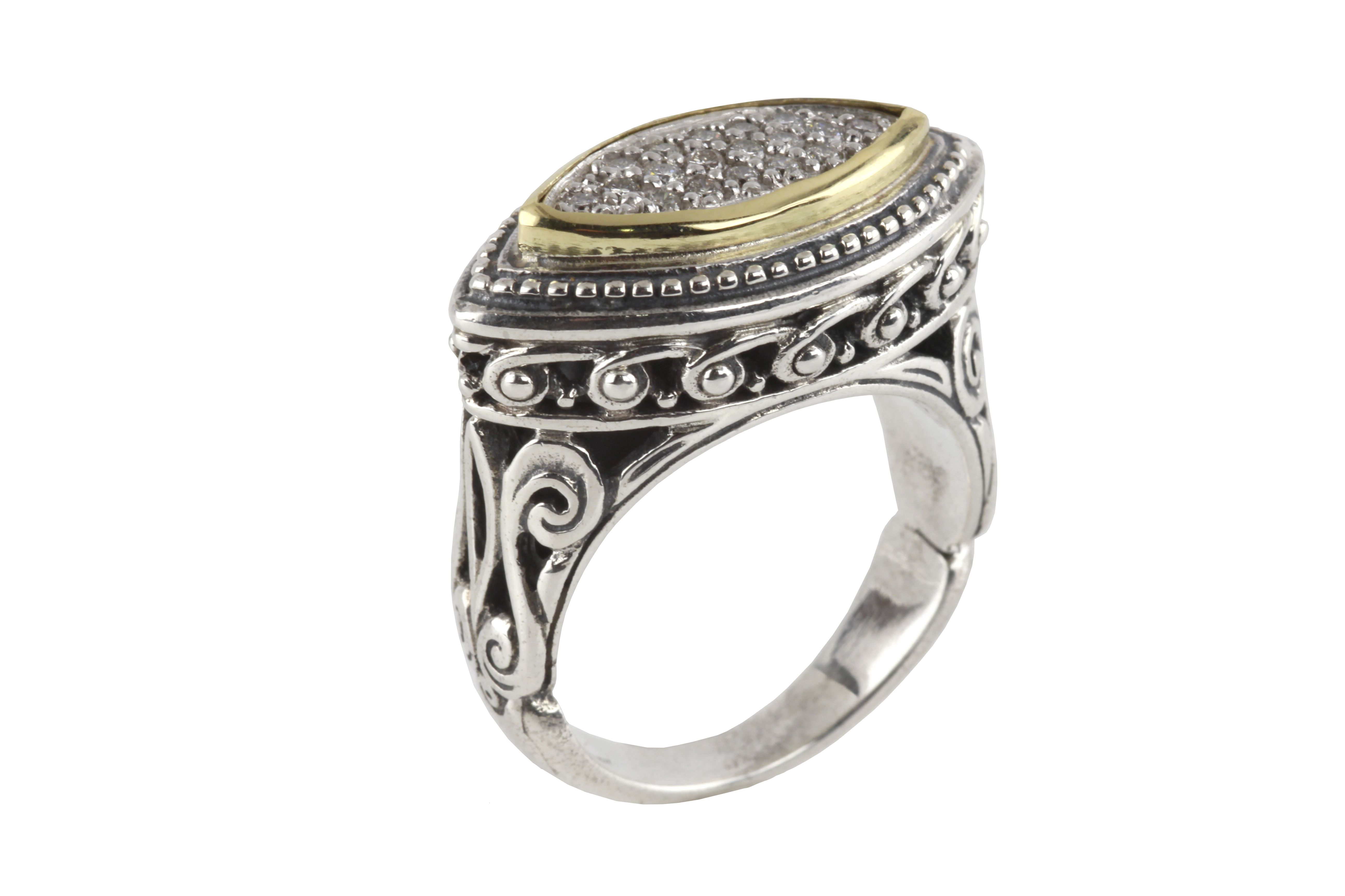 smokin cigar band bridal rings