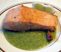 Salmon en Salsa Verde - Salmon in Green Sauce