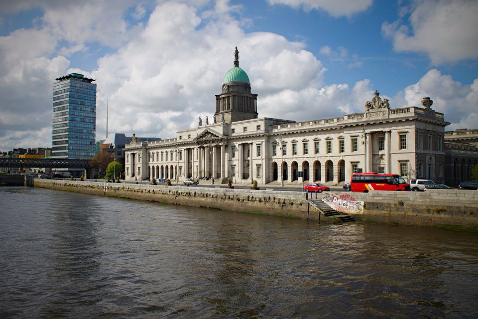 Dublin's Custom House - an iconic view, but just outside the Top Ten