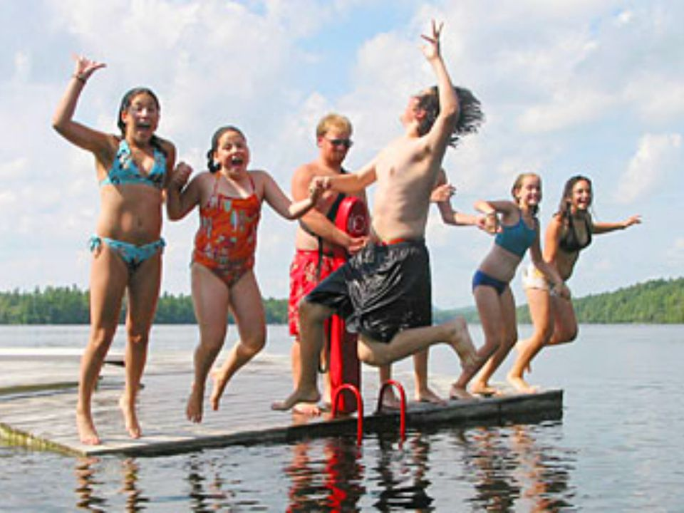 Family Summer Camp in Maine