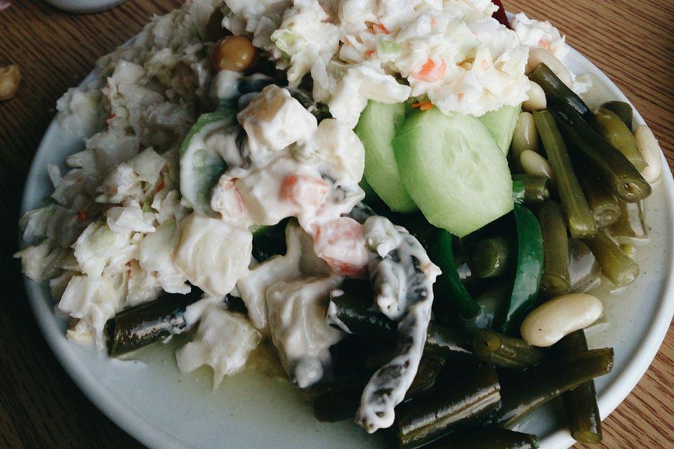 Potato Salad and Coleslaw
