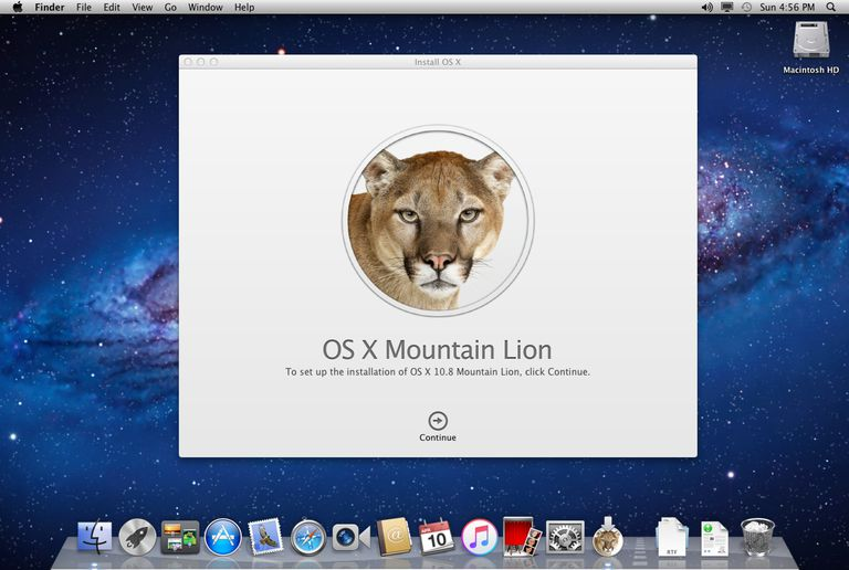 OS X Mountain Lion Installer app