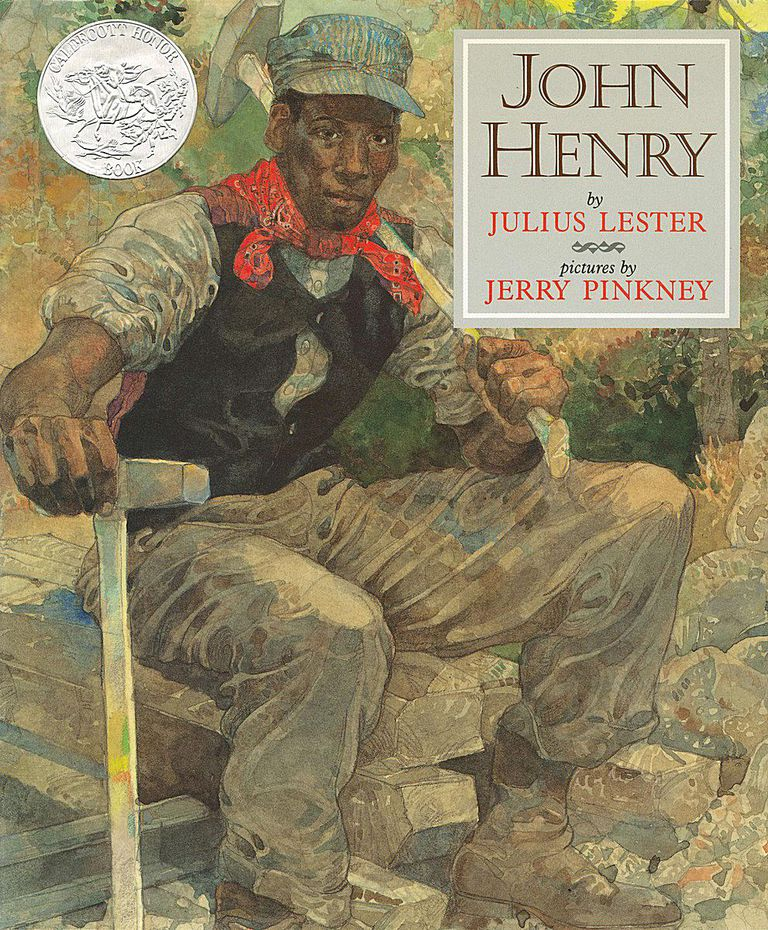 John Henry - picture book cover