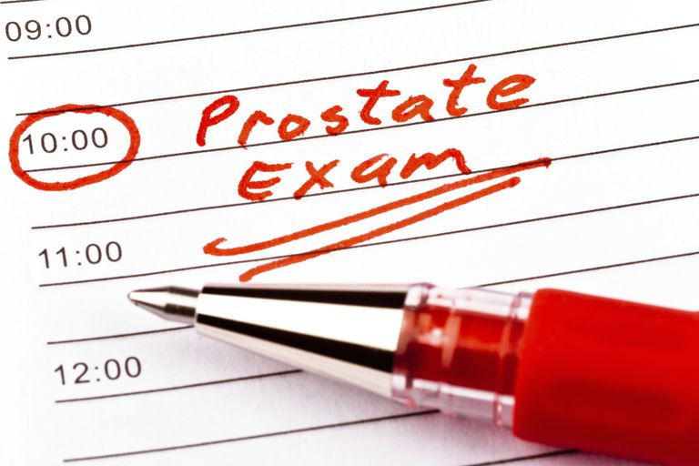 Prostate exams are recommended for many men.