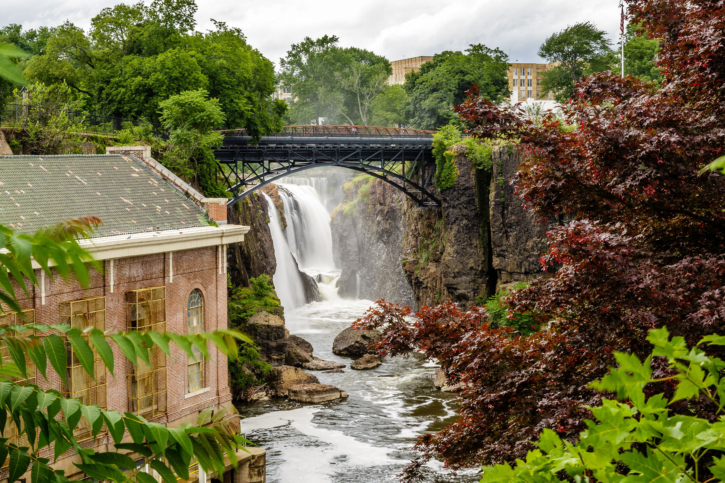 Image result for Great Falls in Paterson