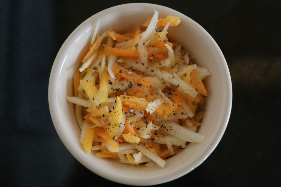 Snappy Carrot Salad