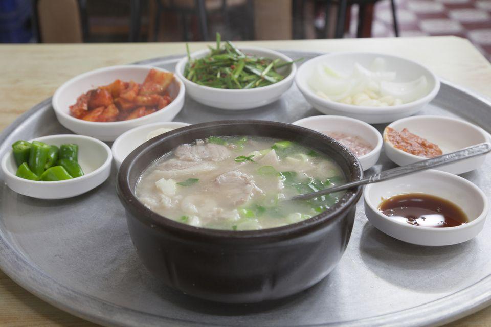 Korean Stuffed Chicken Soup With Ginseng Recipe