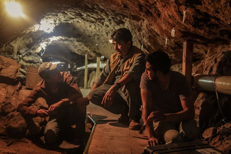Sergio Gómez and his workers have removed over 800 tons of debris and soil from the tunnel beneath the Temple of the Feathered Serpent at Teotihuacan.