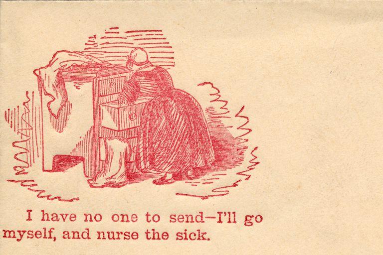 From a Civil War Era Envelope