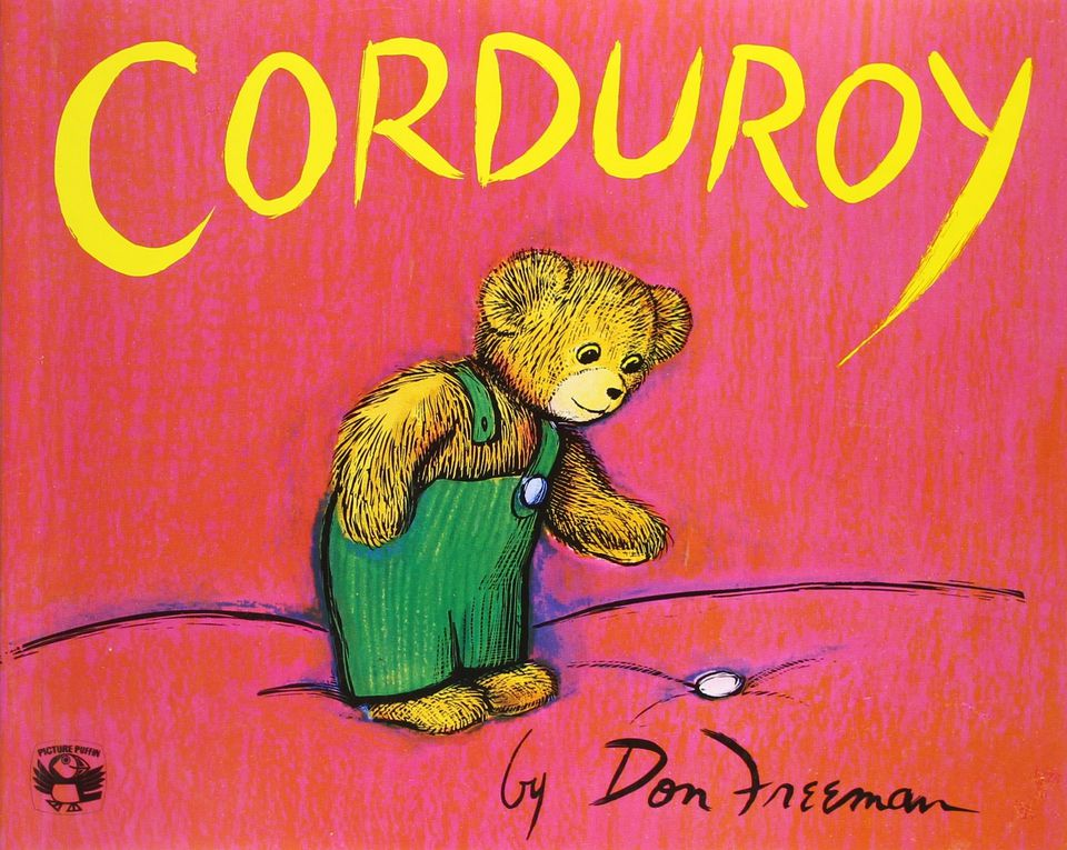 Corduroy is a great children's book for reading with grandchildren.
