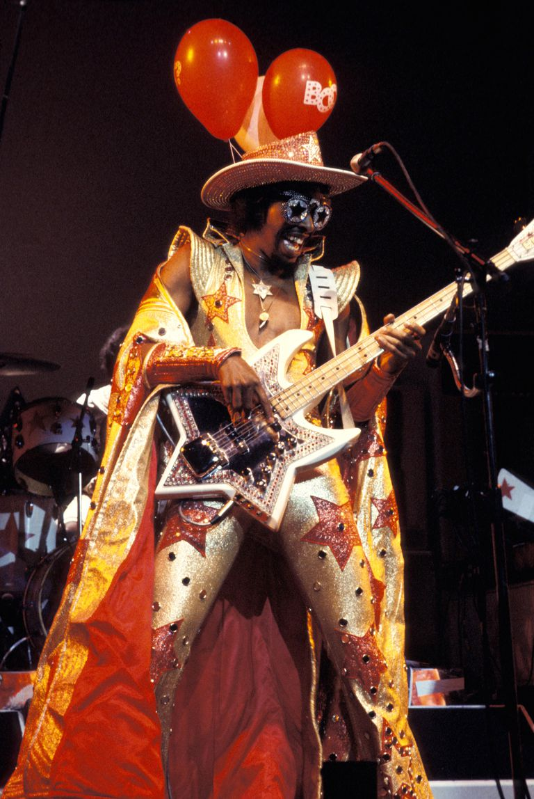 10 Great Examples Of Using Infographics For Education: Bootsy Collins' Ten Greatest Songs