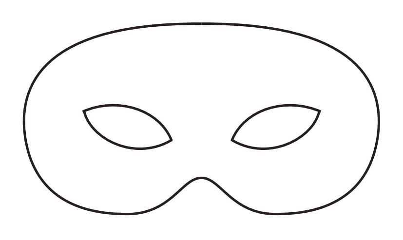 Blank mask template yelomdiffusion 19 free mardi gras mask templates for kids and adults maxwellsz