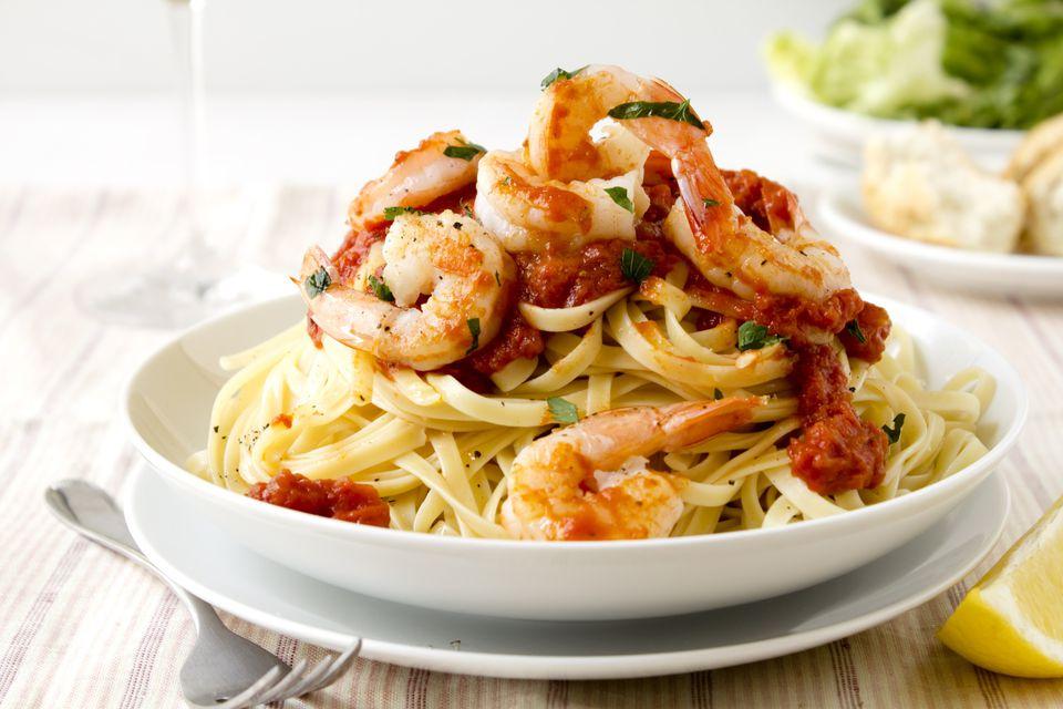 Spicy Italian Shrimp
