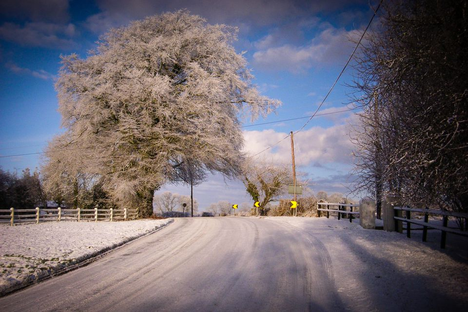 January in Ireland - generally the coldest month of them all