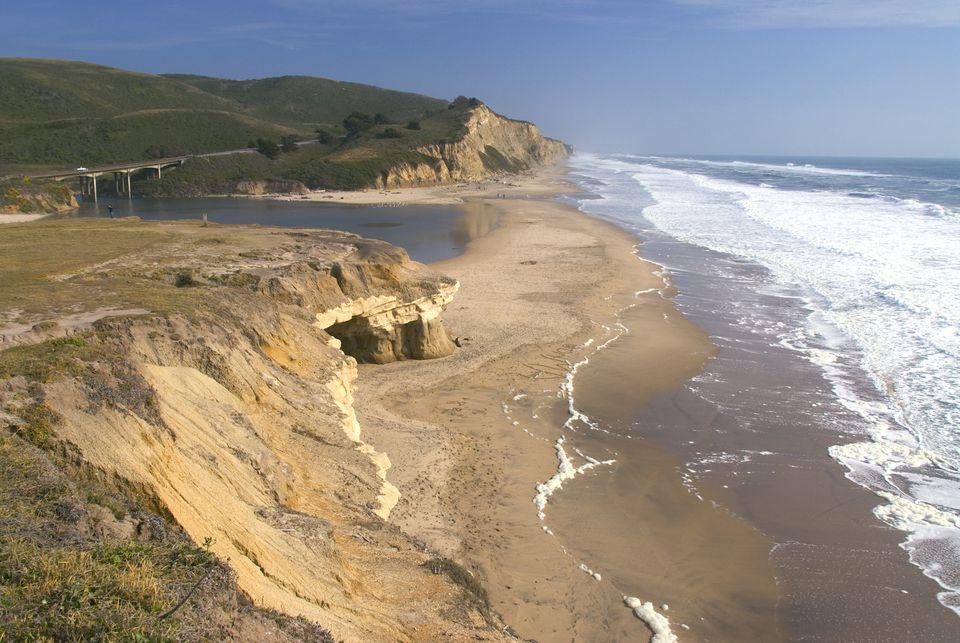 San Gregorio State Beach,