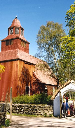 Church at Skansen Museum, Stockholm